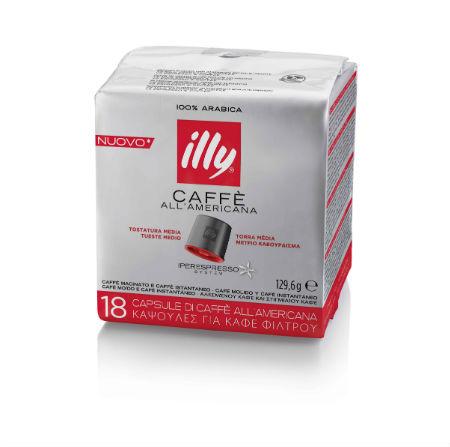 Capsule illy iperEspresso cafea Americano 1