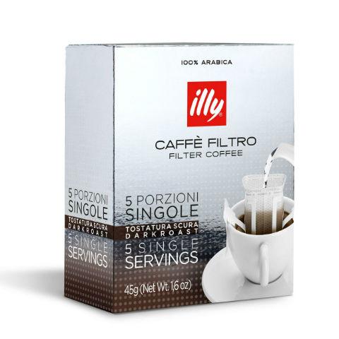 illy cafea filtru - single portion Dark 1