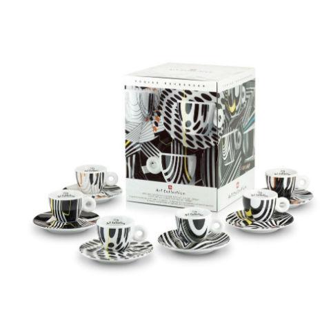 Kit illy cesti colectie Tobias Rehberger – 2 cesti espresso 1