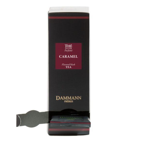 Ceai negru Dammann Caramel - pliculete 1