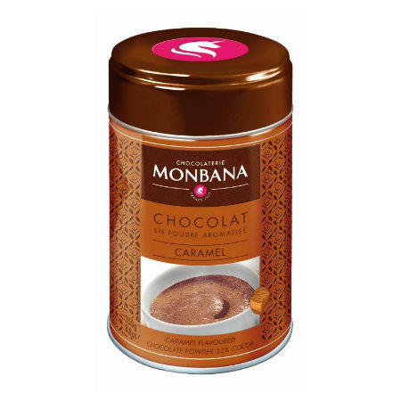 Ciocolata calda CARAMEL Monbana, 250g 1