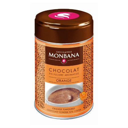 Ciocolata calda PORTOCALE Monbana, 250g 1