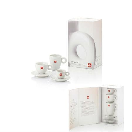 illy kit essential Line ceasca illy espresso, cappuccino si cana 1