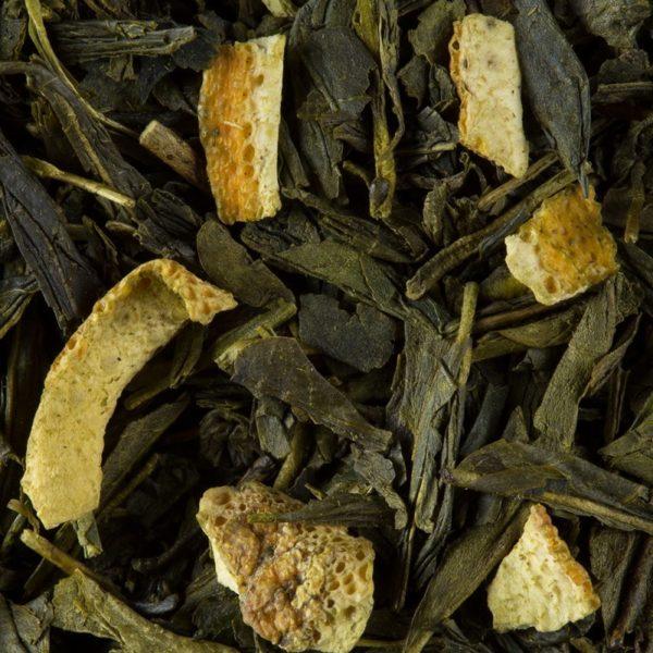 Ceai verde Dammann Vert de Chine Soleil Vert - pliculete 3