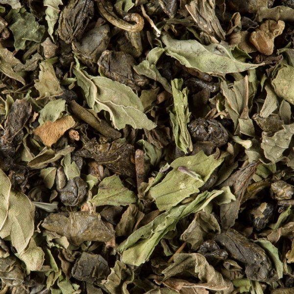 Ceai verde Dammann The Vert a la Menthe Touareg - pliculete 3