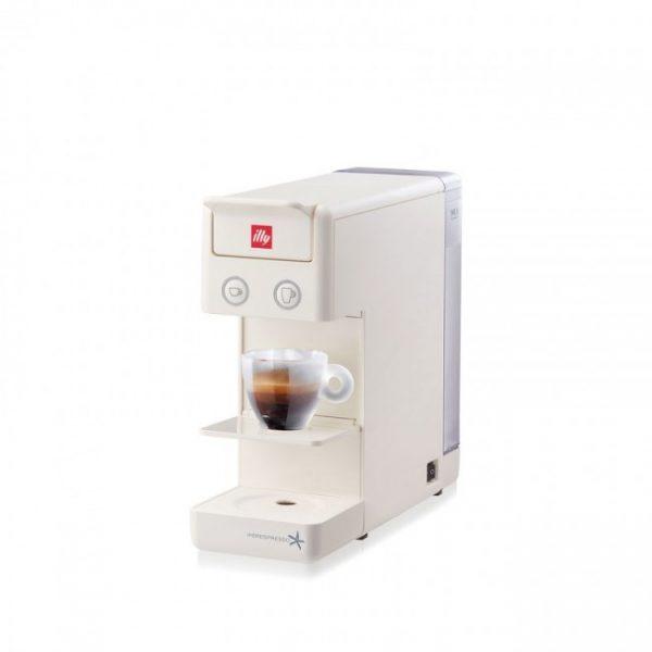Espressor illy Y3.2 New Edition alb + CADOU 2