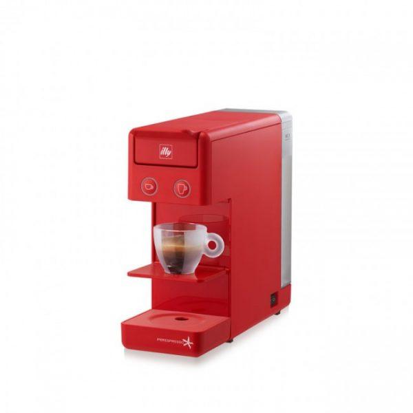 Espressor illy Y3.2 New Edition rosu + CADOU 2