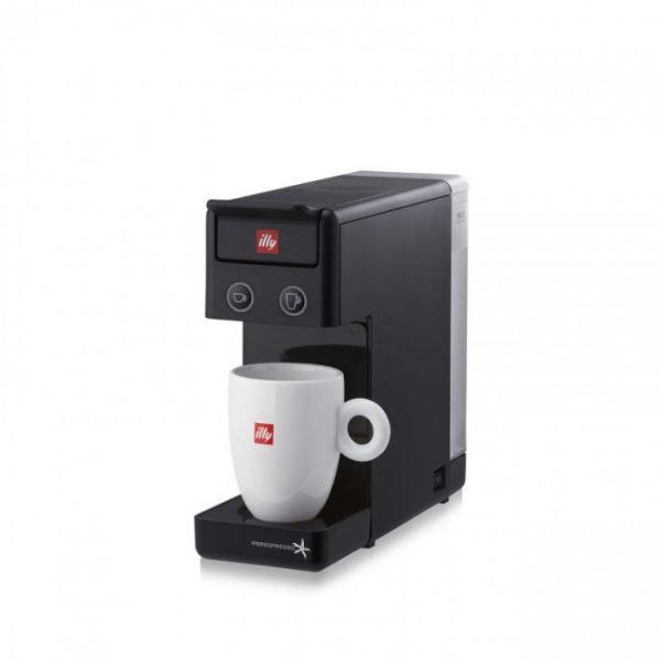 Espressor illy Y3.2 New Edition negru + CADOU 4