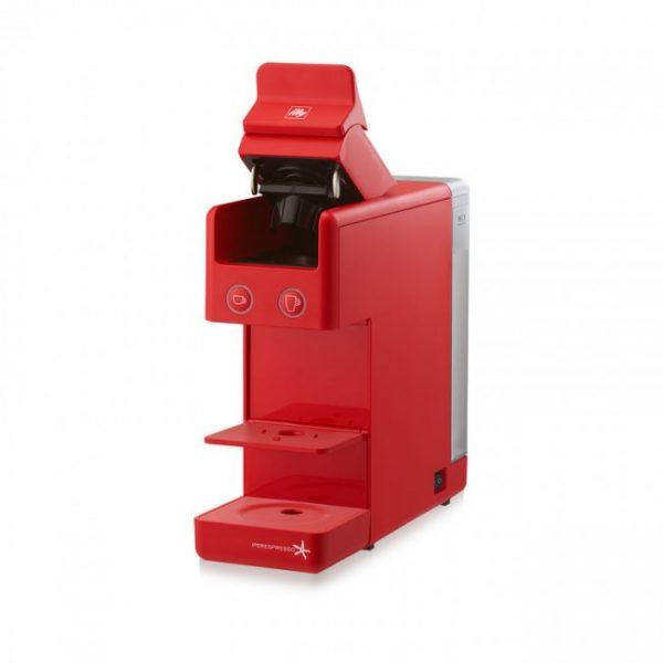 Espressor illy Y3.2 New Edition rosu + CADOU 3