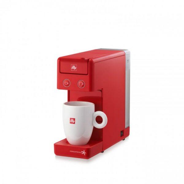 Espressor illy Y3.2 New Edition rosu + CADOU 4