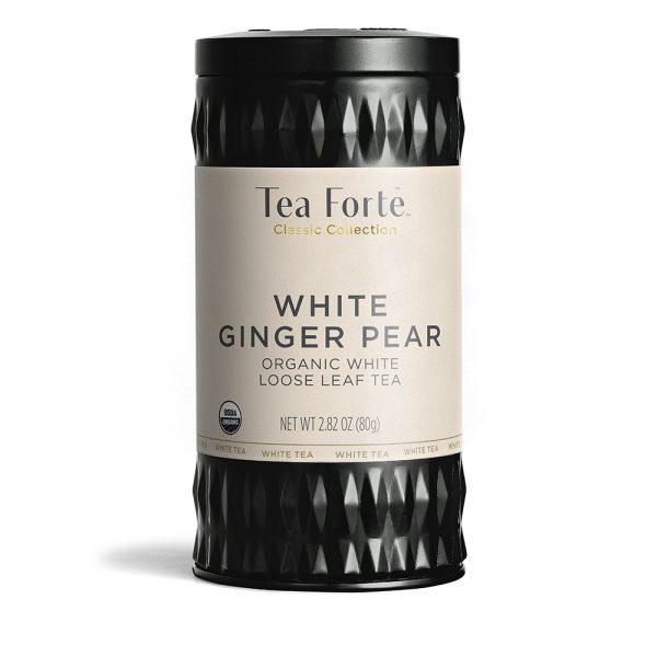 Ceai alb organic cu ghimbir, pere si vanilie 1