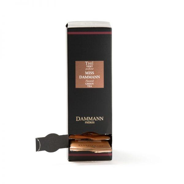 Ceai verde ghimbir Miss Dammann - pliculete 1