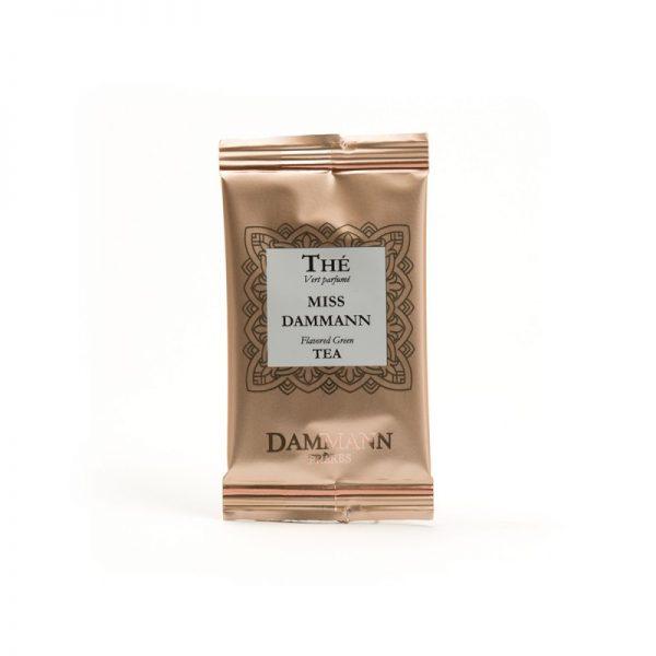 Ceai verde ghimbir Miss Dammann - pliculete 2