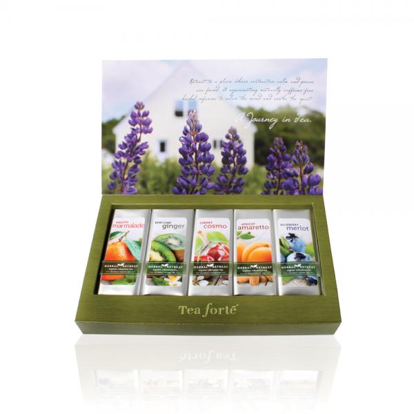 Ceai Herbal Retreat cutie cu 15 infuzii 1