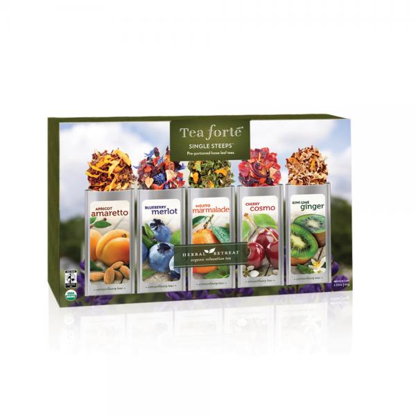 Ceai Herbal Retreat cutie cu 15 infuzii 2