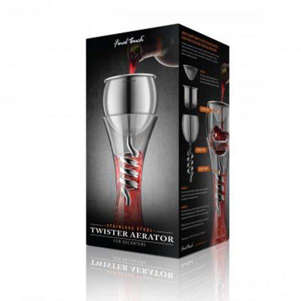 Aerator inox Twister 1