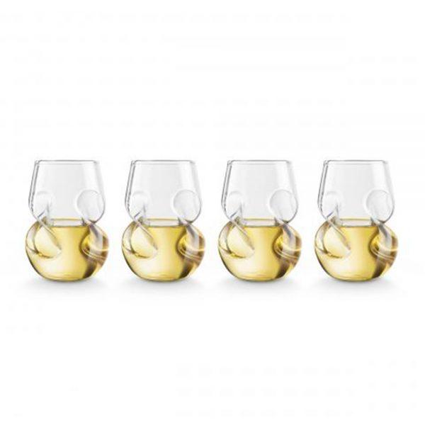 Set 4 pahare vin alb 4