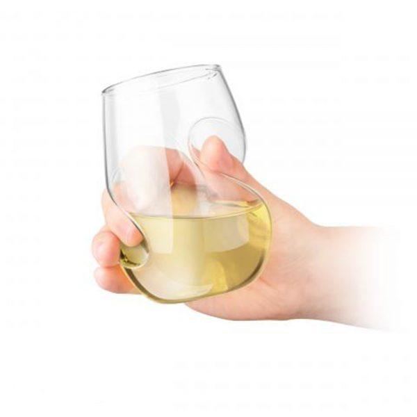 Set 4 pahare vin alb 3