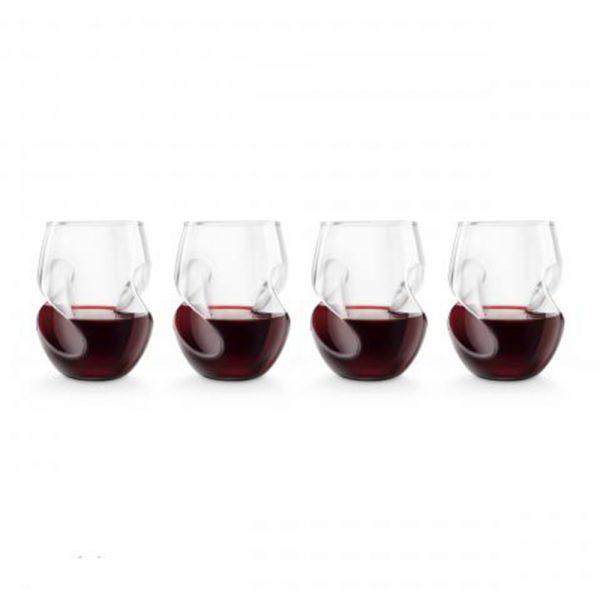 Set 4 pahare pentru vin rosu 5