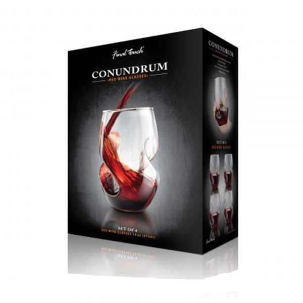 Set 4 pahare pentru vin rosu 1